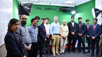 Photo of मंदसौर विश्वविद्यालय की नई सौगात, शहर के पहले अत्याधुनिक टेलीविजन स्टूडियो का हुआ उद्घाटन