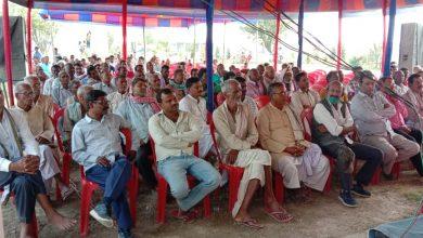 Photo of किसानों ने सरकार द्वारा अधिग्रहित की जमीन का उचित मूल्य देने की उठाई मांग
