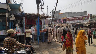 Photo of रेलवे की जमीन पर अतिक्रमण कर बनाए गए दुकान को रेल पुलिस ने कराया खाली