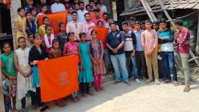 Photo of अखिल भारतीय विद्यार्थी परिषद पोठिया इकाई द्वारा अभाविप एक परिचय के माध्यम से इकाई पूर्णगठन किया गया