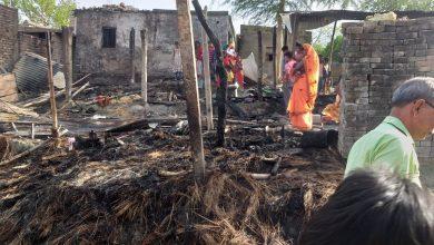 Photo of आग लगने से 8 घर सहित लाखो रुपये की परिसम्पत्ति जल कर खत्म