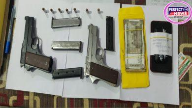 Photo of अन्तर्राज्यीय हथियार तस्कर फिरोज आलम उर्फ बाबा गिरफ्तार, कई हथियार बरामद