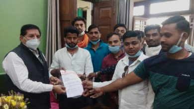 Photo of अखिल भारतीय विद्यार्थी परिषद ने महाविद्यालय प्रसासन व कुलपति का किया पुरजोर विरोध